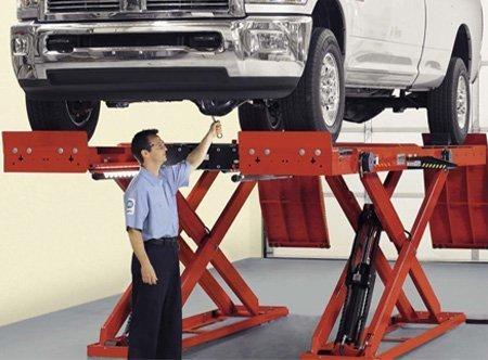 Alignment Scissor Lifts - ALIGNMENT LIFTS RACKS