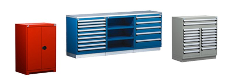 Automotive service counter Storage - Tools and Parts Storage