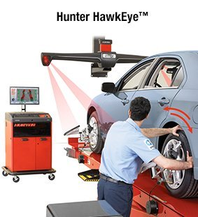 Hunter HawkEye™ - ALIGNMENT SYSTEMS
