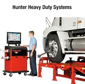Hunter Heavy Duty Systems - ALIGNMENT SYSTEMS