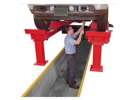 Pit Rack by Hunter - ALIGNMENT LIFTS RACKS