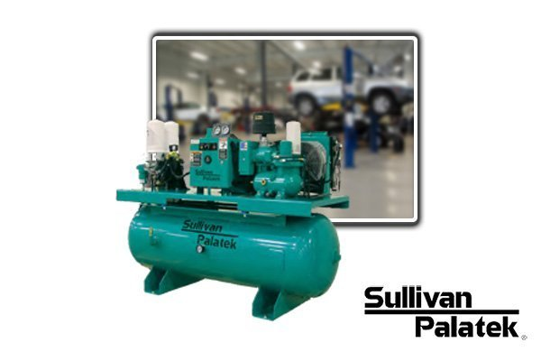 Rotary Screw Air Compressor - COMPRESSED AIR