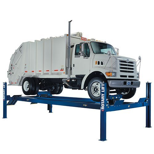 SM30 Lift with Garbage Truck - HEAVY DUTY LIFTS