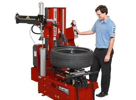 Tire Changer New - ALIGNMENT AND WHEELS