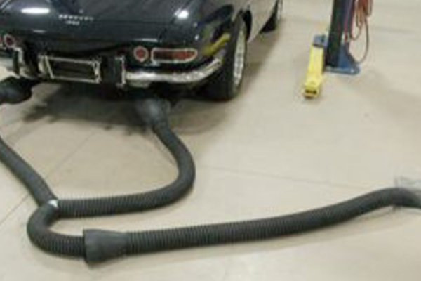 inground exhaiust removal - EXHAUST REMOVAL
